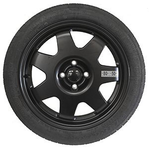 Kit rueda de repuesto recambio para Peugeot Bipper