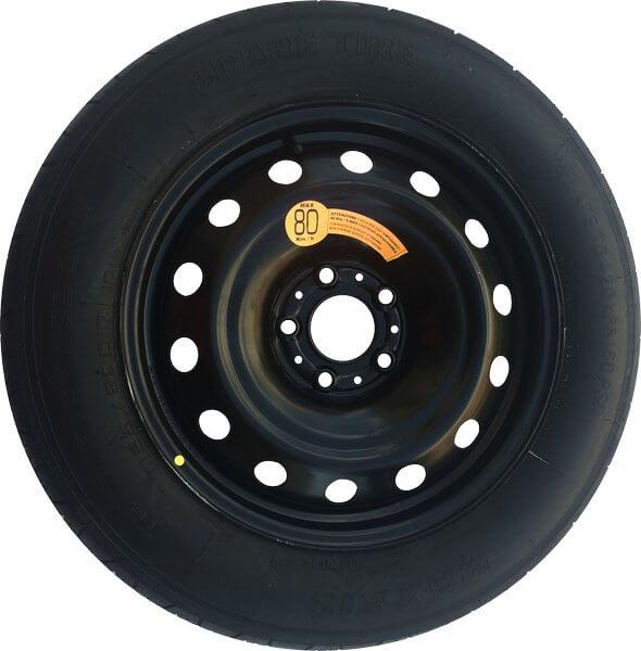 Kit rueda de repuesto recambio para Vw Up 01/2012-
