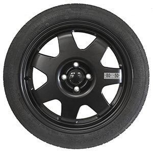 Kit rueda de repuesto recambio para Vw Polo 06/2009-