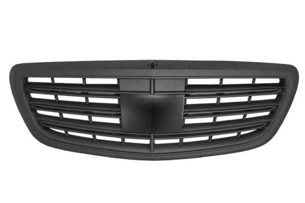 Parrilla rejilla delantera para MERCEDES W222 S-Class (2014+) S63 S65 Design Negra mate