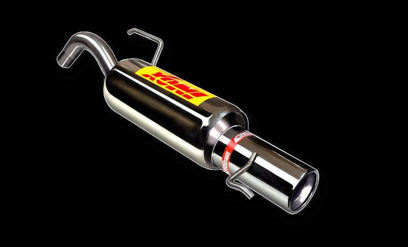 Escape trasero deportivo RC Racing FIAT GRANDE PUNTO 1.4i 16V (TIPO 199) 06- 80CV