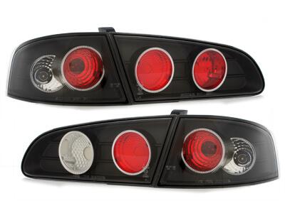 Pilotos faros traseros Seat Ibiza 6L 02.02-08 negro