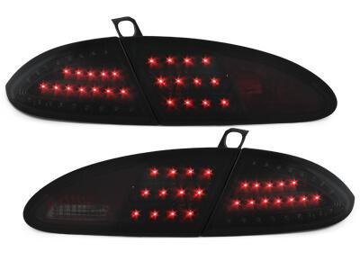LITEC Pilotos faros traseros LED Seat Leon 05-09 1P negro/ahumado