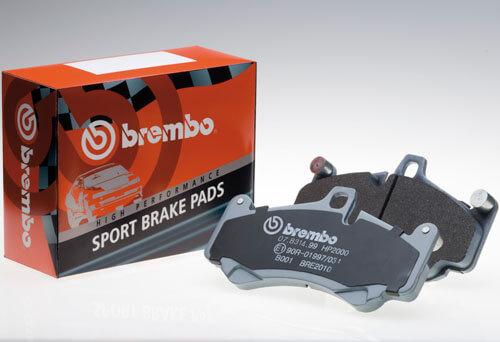Kit pastillas de freno deportivas delanteras Sport Brembo HP2000 ABARTH 500 / 595 / 695 (312_) 1.4 107Kw 05/16-