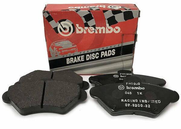 Kit pastillas de freno deportivas traseras Sport Brembo HP2000 VW TRANSPORTER V Platform/Chassis (7JD, 7JE, 7JL, 7JY, 7JZ, 7FD 2.0 TDI 4motion 103 Kw 09/09 - 08/15