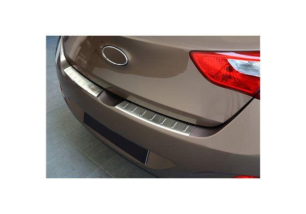 Protector Parachoques en Acero Inoxidable Hyundai I30 5 Puertas 2012-2017 ribs