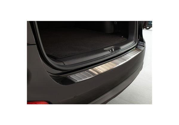 Protector Parachoques en Acero Inoxidable Hyundai Santa Fe 2007-2012 ribs