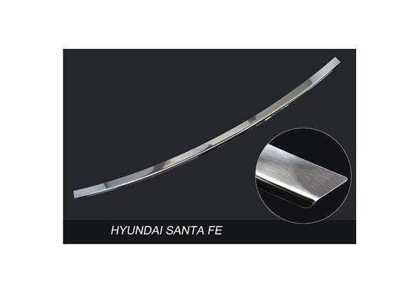 Protector Parachoques en Acero Inoxidable Hyundai Santa Fe Iii 2013-