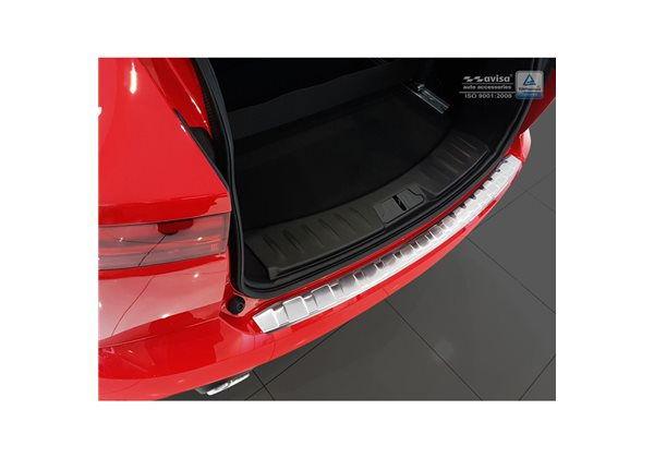 Protector Parachoques en Acero Inoxidable Jaguar E-pace 2017- ribs