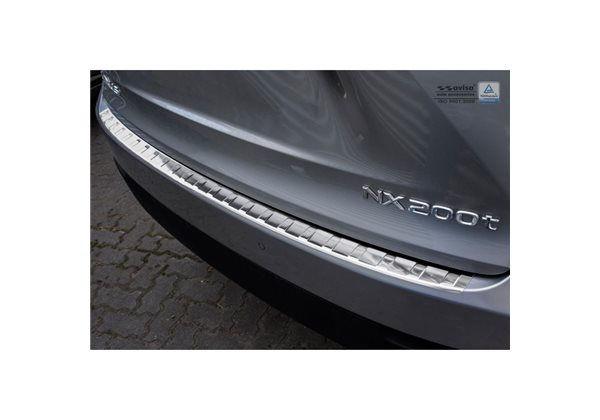 Protector Parachoques en Acero Inoxidable Lexus Nx 2014- ribs