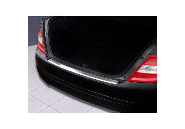 Protector Parachoques en Acero Inoxidable Mercedes Clase C W204 Sedan 2007-2011 ribs