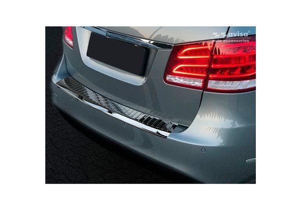 Protector Parachoques en Acero Inoxidable Mercedes Clase E W212 Kombi 2013-2016 ribs