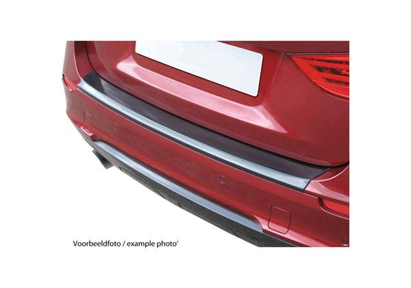 Protector Parachoques en Plastico ABS Jaguar Xf Sportbrake 9.2012- Look Fibra Carbono