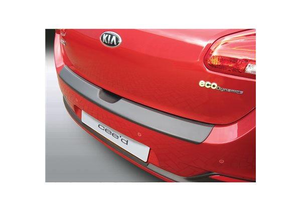Protector Parachoques en Plastico ABS Kia Ceed 5 puertas 5.2012- Negro