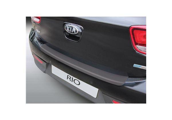 Protector Parachoques en Plastico ABS Kia Rio 3/5 Puertas 1.2015- Negro