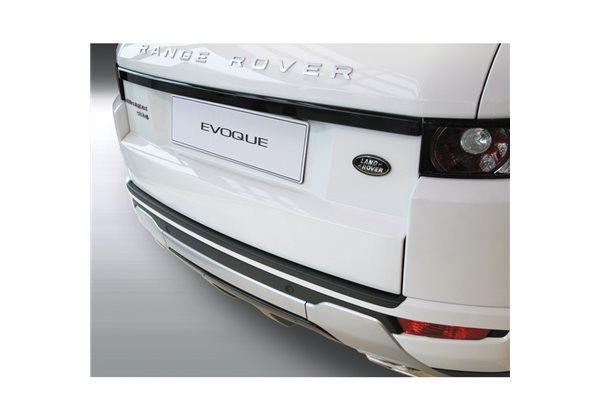 Protector Parachoques en Plastico ABS Landrover Range Rover Evoque 3 puertas 9.2011- Negro