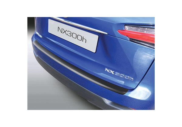 Protector Parachoques en Plastico ABS Lexus Nx 10.2014- Negro