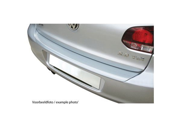 Protector Parachoques en Plastico ABS Mercedes Clase E W211t Touring/kombi 1.2003-10.2009 Look Plata