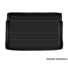 Alfombra de maletero protectora Peugeot 5008 II 5 puertas 2017- 7 plazas, 3a fila abierta