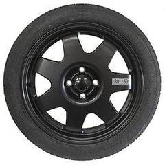 Kit rueda de repuesto recambio para Fiat 500 07/2007-