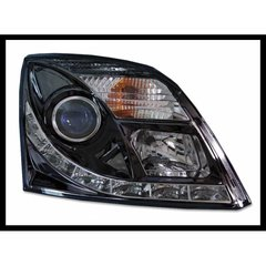 Faros Delanteros Luz De Dia Opel Vectra C, Black