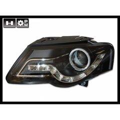Faros Delanteros Luz De Dia Volkswagen Passat 05, Black