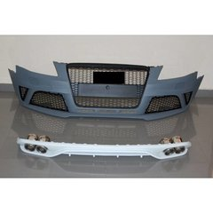 Kit De Carroceria Audi A4 09-12 B8 Look Rs4 Abs