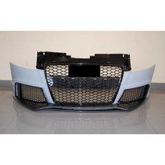 Paragolpes Delantero Audi Tt 06-13 8j Look Rs Spoiler Look Carbono