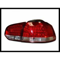Pilotos Traseros Volkswagen Golf 6 Led Red