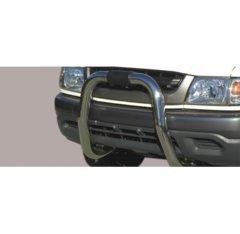Defensa delantera barras en Acero Inoxidable Toyota Hi Lux 2.5 Td Double Cab/xtra Cab 2.5 Td 02/05