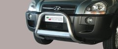 Defensa delantera barras en Acero Inoxidable Hyundai Tucson 04- Diametro 63 Homologada