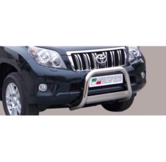 Defensa delantera barras en Acero Inoxidable Toyota Land Cruiser 150 09- Diametro 63 Homologada
