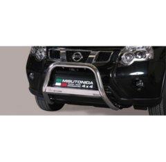 Defensa delantera barras en Acero Inoxidable Nissan X-trail 11- Diametro 63 Homologada