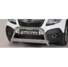 Defensa delantera barras en Acero Inoxidable Homologacion Ec Opel Mokka Medium Bar Acero Inox Diametro 63