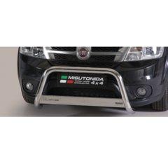 Defensa delantera barras en Acero Inoxidable Homologacion Ec Fiat Freemont Medium Bar Acero Inox Diametro 63