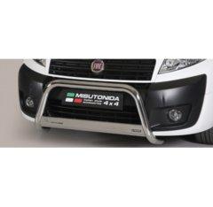 Defensa delantera barras en Acero Inoxidable Homologacion Ec Fiat Scudo 06- Medium Bar Acero Inox Diametro 63