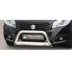 Defensa delantera barras en Acero Inoxidable Homologacion Ec Suzuki Sx4 S-cross 13- Medium Bar Acero Inox Diametro 63