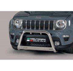 Defensa delantera barras en acero inoxidable Jeep Renegade 2018- O 63 Homologada - Ec Bar