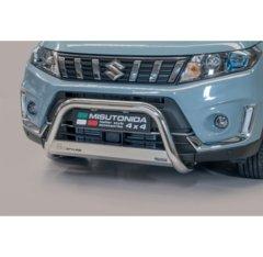 Defensa delantera barras en acero inoxidable Suzuki Vitara 2019- O 63 Homologada - Ec Bar