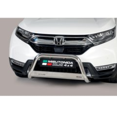 Defensa delantera barras en acero inoxidable Honda Cr V Hybrid 2019- O 63 Homologada - Ec Bar