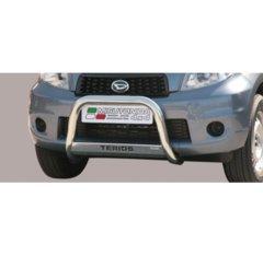 Defensa delantera barras en Acero Inoxidable Daihatsu Terios 09 - Diametro 63 Homologada