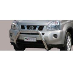 Defensa delantera barras en Acero Inoxidable Nissan X-trail 07/10 Diametro 76 Homologada