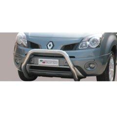 Defensa delantera barras en Acero Inoxidable Renault Koleos 08/11 Diametro 76 Homologada