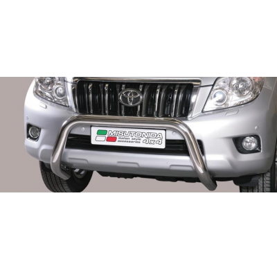 Defensa delantera barras en Acero Inoxidable Toyota (suitable With Park Sensors) Diametro 76 Homologada