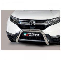 Defensa delantera barras en acero inoxidable Honda Cr V Hybrid 2019- O 76 Homologada - Ec Bar