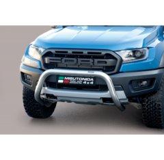 Defensa delantera barras en acero inoxidable Ford Ranger Raptor 2019 - O 76 Homologada - Ec Bar