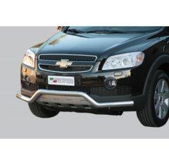 Defensa delantera barras en Acero Inoxidable Chevrolet Captiva 06-