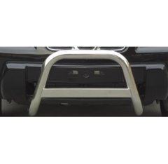 Defensa delantera barras en Acero Inoxidable Nissan X-trail 2.0 Petrol-2.2 Td 01/03