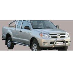 Defensa delantera barras en Acero Inoxidable Toyota Hi-lux 06/11