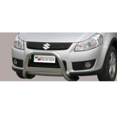 Defensa delantera barras en Acero Inoxidable Suzuki Sx4 06/09
